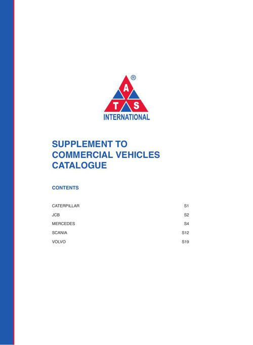 ATS Commercial Veh. Catalogue Supplement