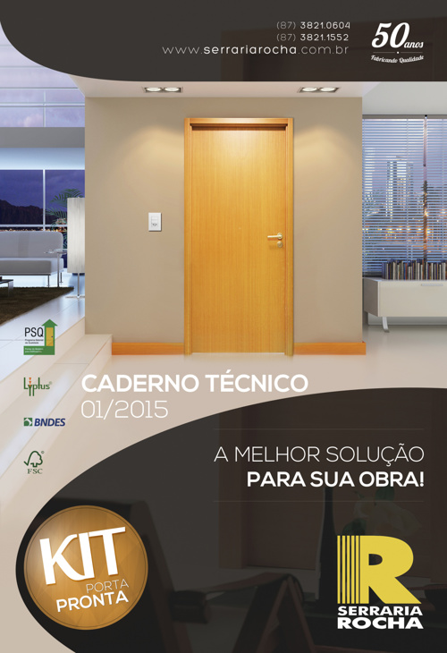 Caderno Técnico 01/2015 - Serraria Rocha