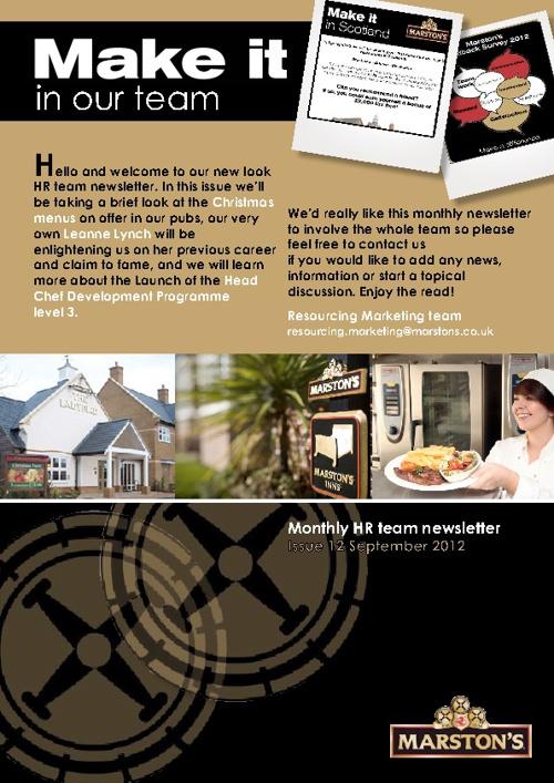 September HR Team Newsletter