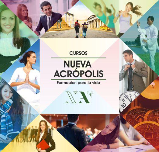 catalogo de cursos Nueva acrópolis