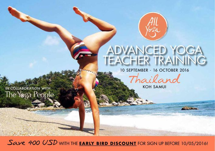 300 Hours Advanced Yoga Teacher Training - Thailand