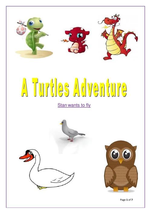 A Turtles Adventure by Raymond Knight