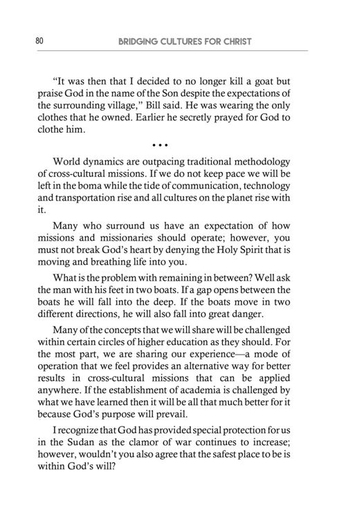 Bridging Cultures for Christ™ - Sample Preview