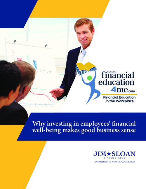 Sloan Brochure Financial Education 4me