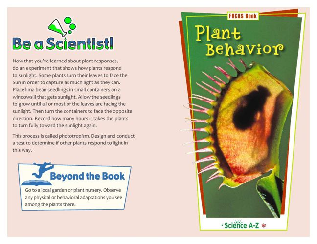 Plant Behavior