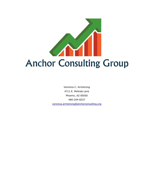 Anchor Consulting Group, LLC