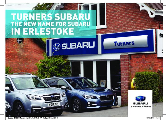 Subaru Turners Dealer