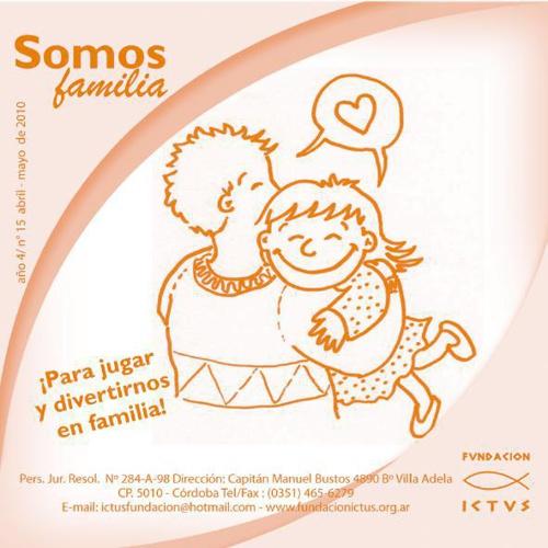 "Boletín ""Somos Familia"" N°15 - 2010"