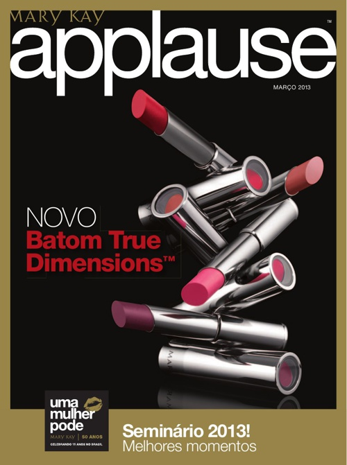 Mary Kay - Revista Applause 03/2013