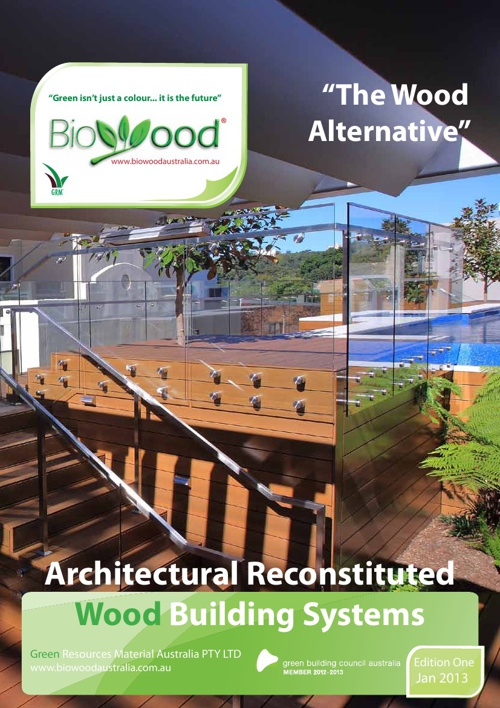 Biowood 2013 Catalogue