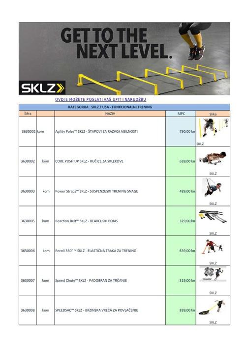 Katalog_SKLZ_hrvatska_oprema_za_kondicijski_trening_sportaša