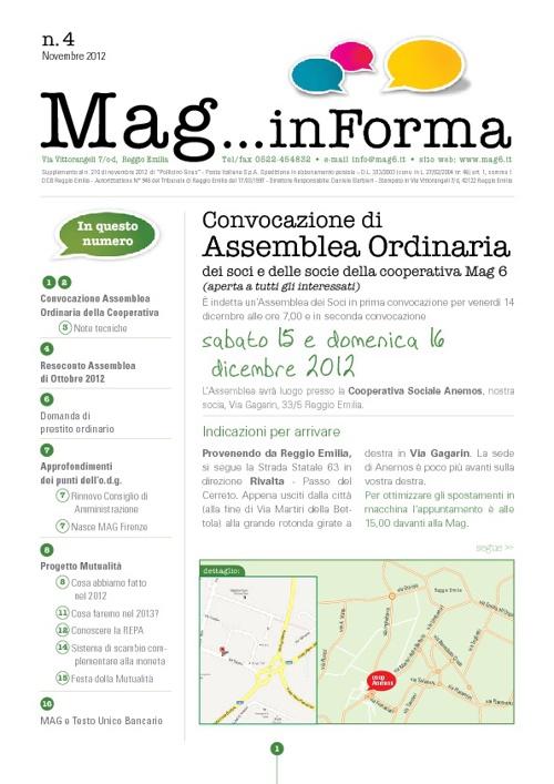 MagInforma n.4 - novembre 2012