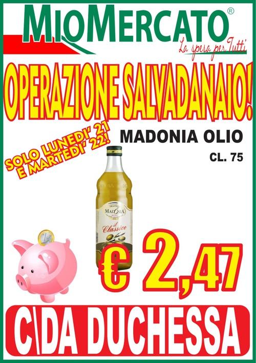 OPERAZIONE SALVADANAIO - C/DA DUCHESSA