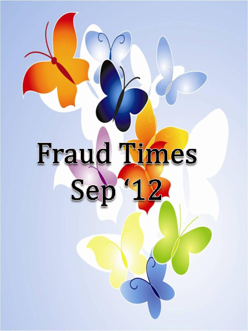 Fraud Claims Newsletter - Sep'12