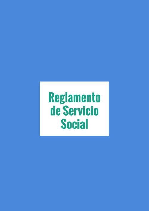 reglamento servicio