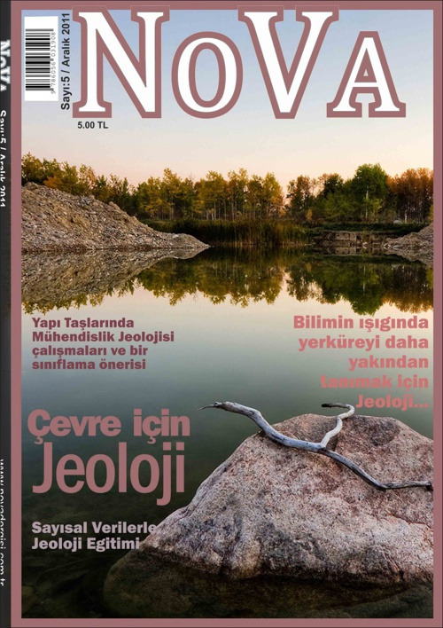 NOVA ( Jeoloji Dergisi Tasarımı )