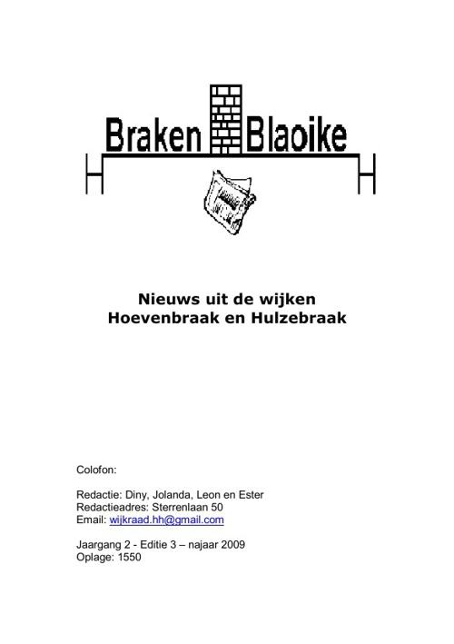 wijkkrant 2009