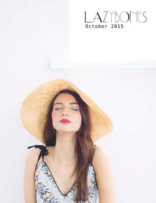 Lazybones - October 2015 catalogue