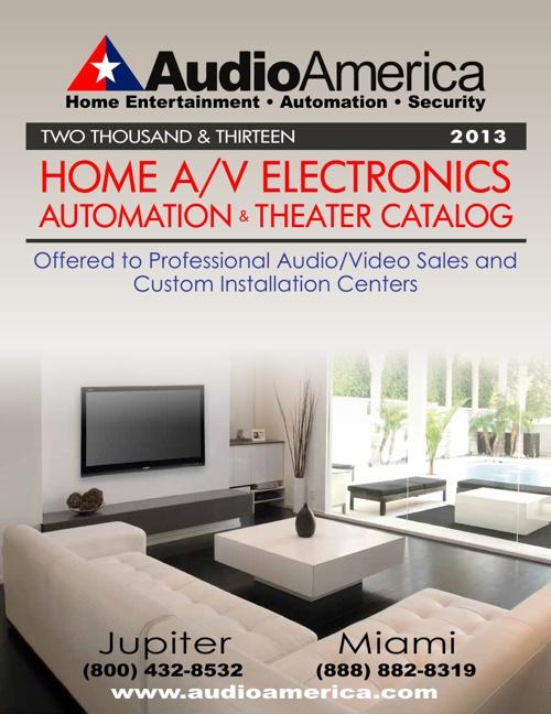 Audio America Home Catalog