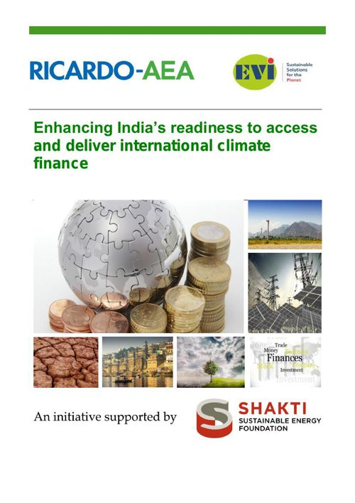Enhancing India's Readiness to Climate Finance