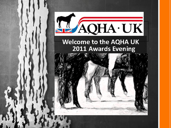 2011 AQHA UK Awards book 1