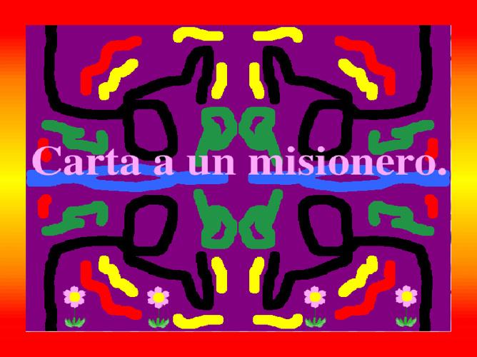 Carta a un misionero.