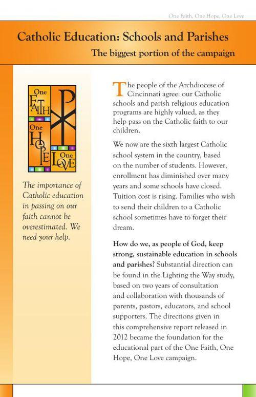 Catholic Education Information