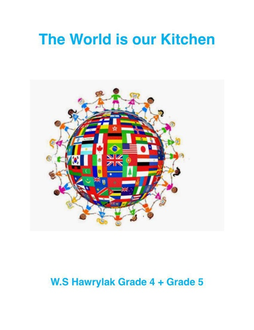 The World is our Kitchen Cover Page