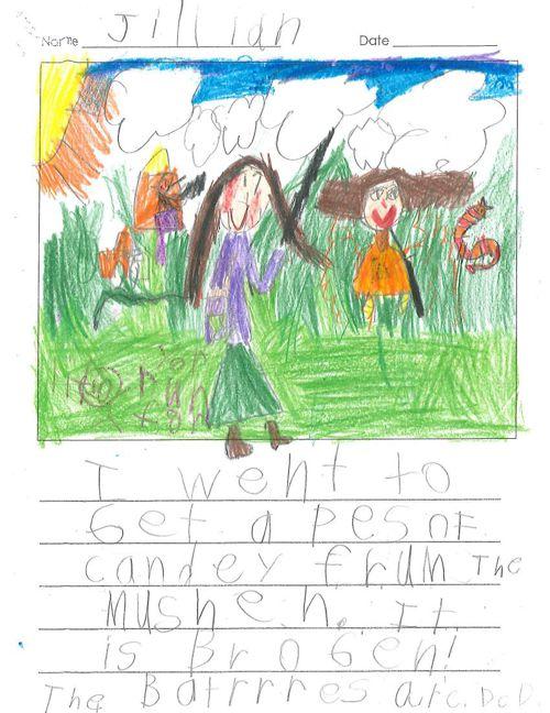 Jillian's Published Writing