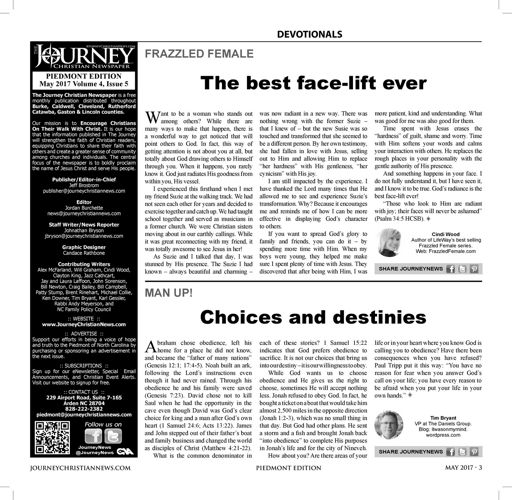 Journey PIEDMONT May 2017 Issue