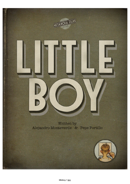 Little Boy - Press release.