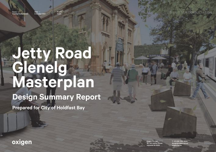 Jetty Road Glenelg Draft Masterplan Design Summary Report