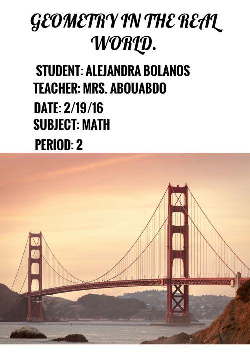 alejandra geometry vocabulary