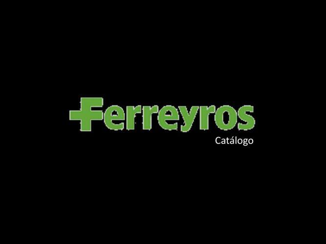 Ferreyros catálogo