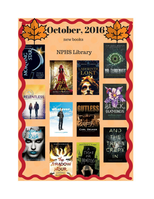 New Books October 2016