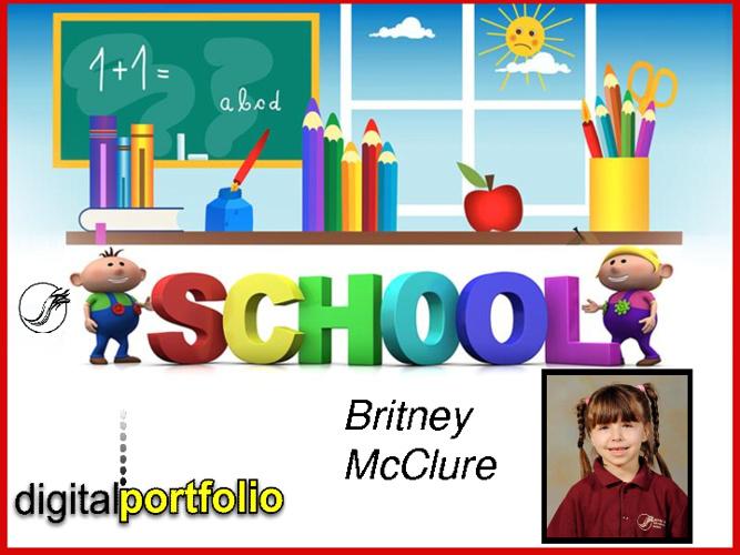 Britney's 2012 Portfolio