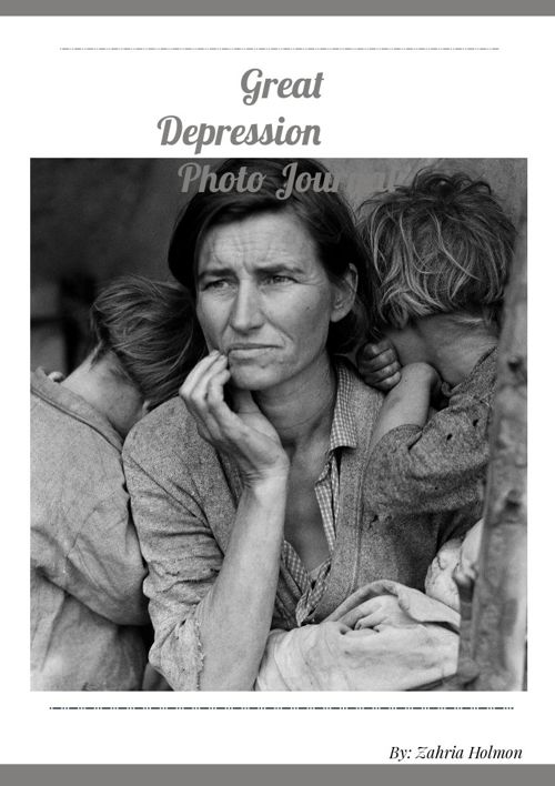 The Great Depression Project