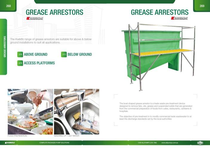 Grease Arrestors