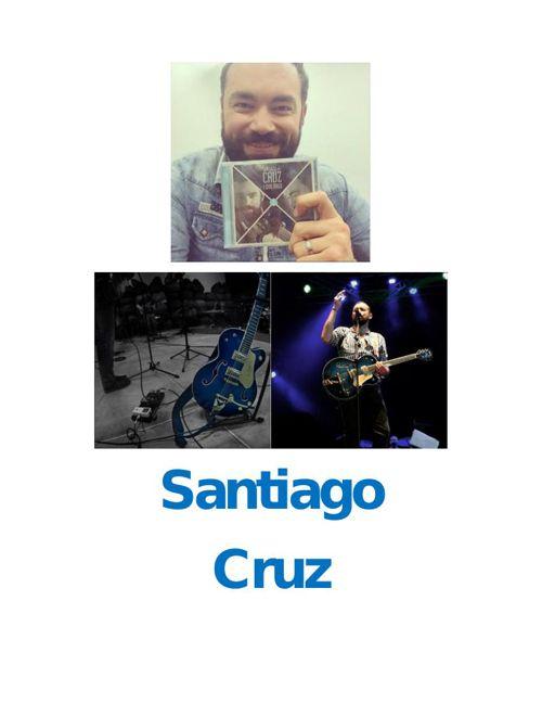 Síntesis de Santiago Cruz