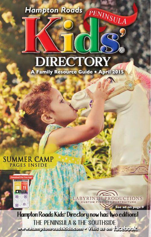 Hampton Roads Kids' Directory: Peninsula - April 2015