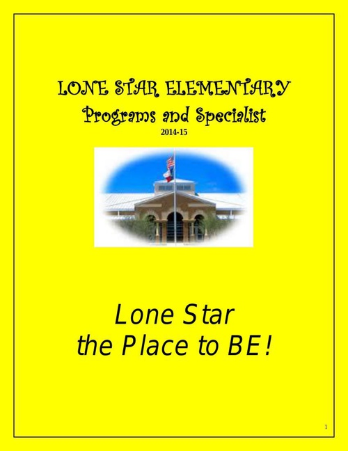 LONE_STAR_ELEMENTARY_2014-15 programs