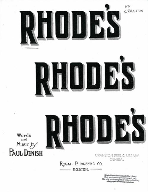 Rhodes, Rhodes, Rhodes