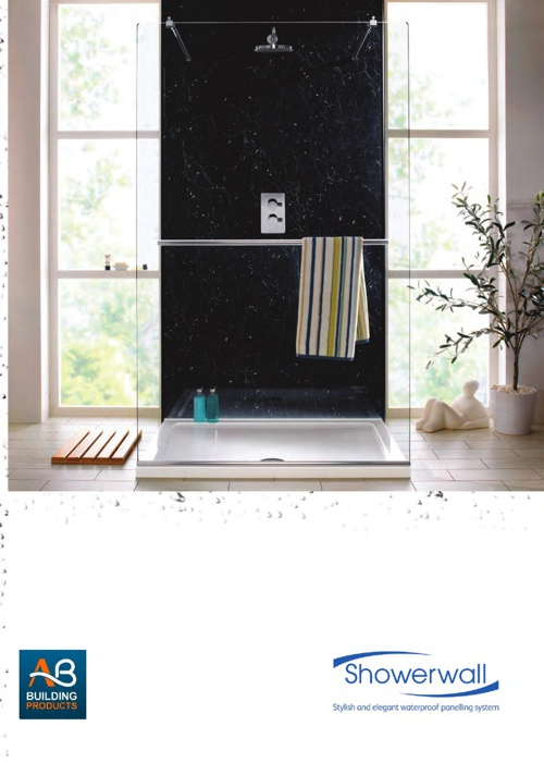 Showerwall Mini Brochure 2013