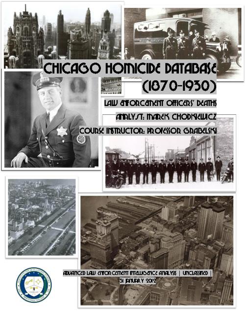 Chicago Homicides 1870-1930