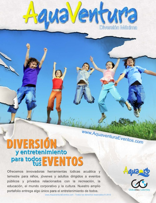 Aquaventura Portafolio de Servicios Completo 2013