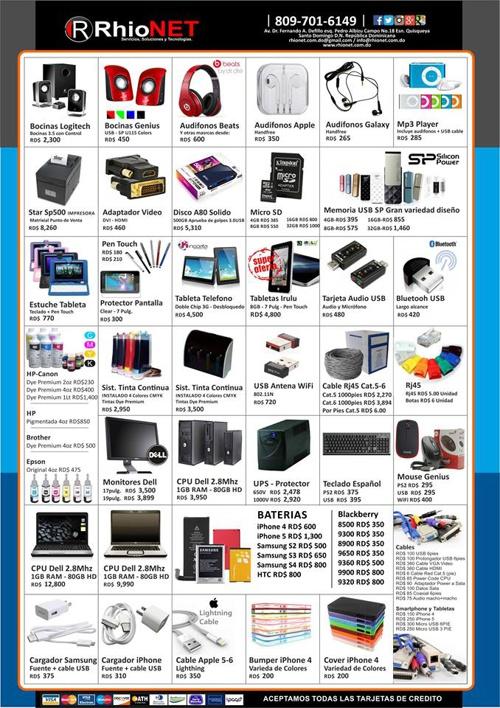 RhioNET Catalogo  2014