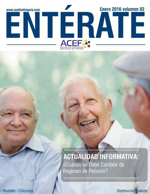 ACEF ENTÉRATE ENERO 2016