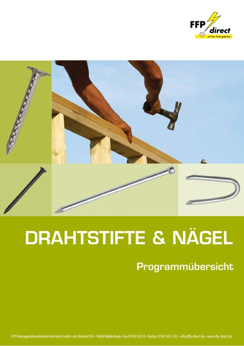 Drahtstifte & Nägel