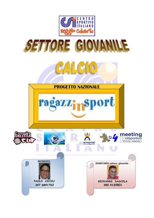CAMPIONATI GIOVANILI -fase primaverile (Calcio)