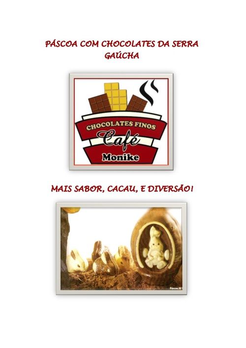 Catálogo Páscoa 2013